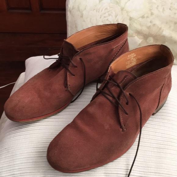 88d4dbea03d zara Shoes | Man Suede Leather Ankle Boots | Poshmark